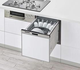 ビルトイン食洗機 スライドオープンタイプ(RSW-404LP)